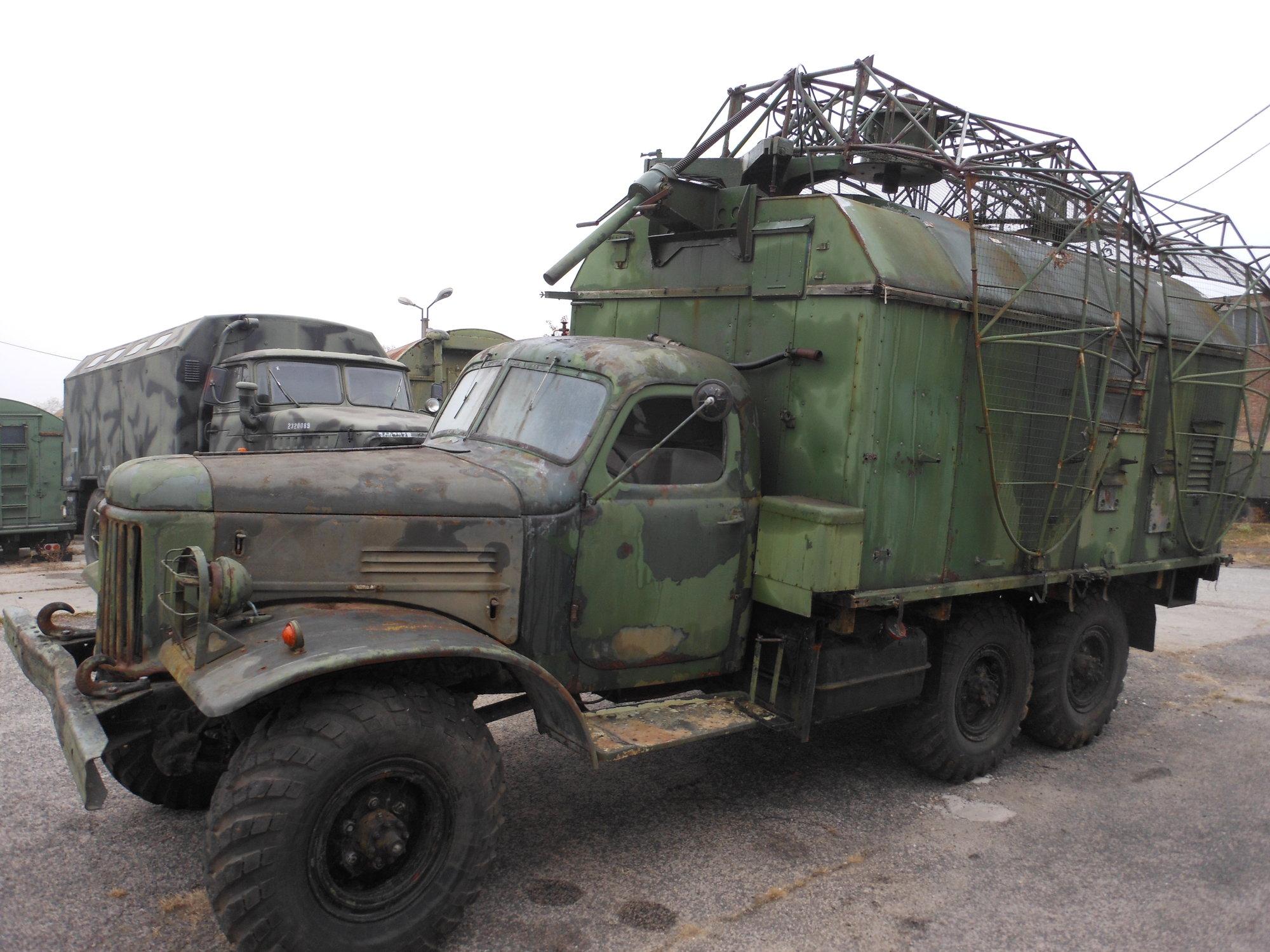 Military Technics :: ZIL 157-P15